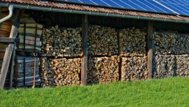 Holzunterstand selber bauen