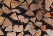 Holzverbrauch in privaten Haushalten