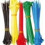 Kabelbinder Sortiment, 5 Farben