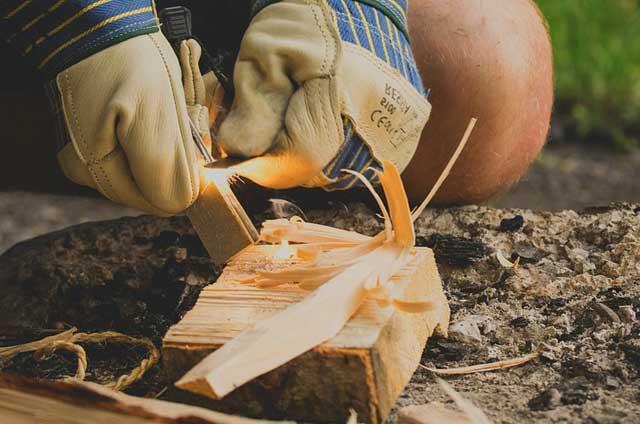 Kaminofenanzünder - Feuer geht auch umständlich