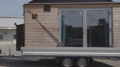 Photo of Neuer Camping Trend? Klein aber Haus – Tiny House DIY