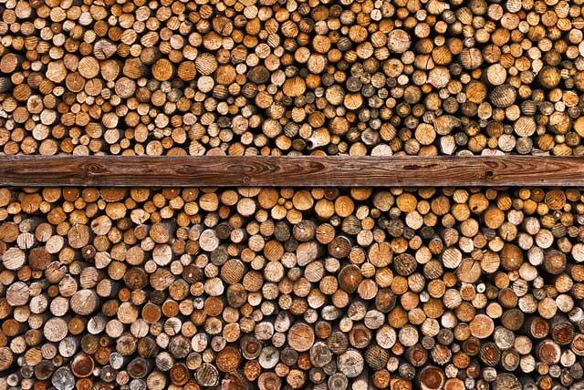 Knüppelholz und Astholz - Alles was die Forstindustrie nicht nutzt