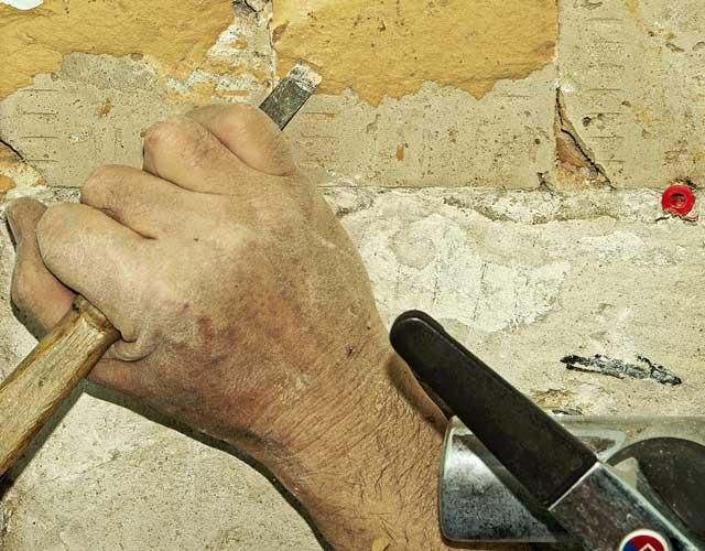 Rollputz entfernen - Nur mit dem richtigen Werkzeug möglich