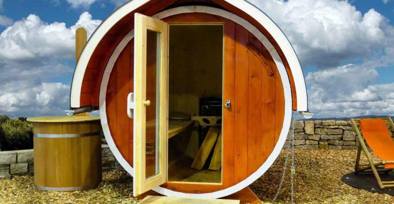 So können Sie eine Sauna selber bauen
