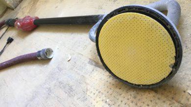 Bild von Schleifpapier für Langhalsschleifer bzw. Trockenbauschleifer