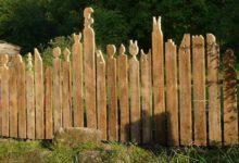 Bild von Sichtschutzelemente aus Holz