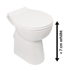 spuelrandloses wc hoeher
