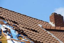 Bild von Wer zahlt Sturmschäden am Dach?