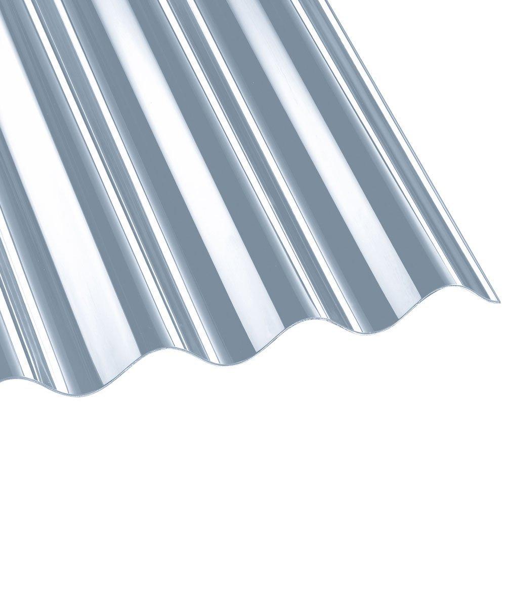 Vordach mit Wellplatten einfach selber bauen