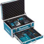 Komplettset mit Schlagbohrmaschine von Makita