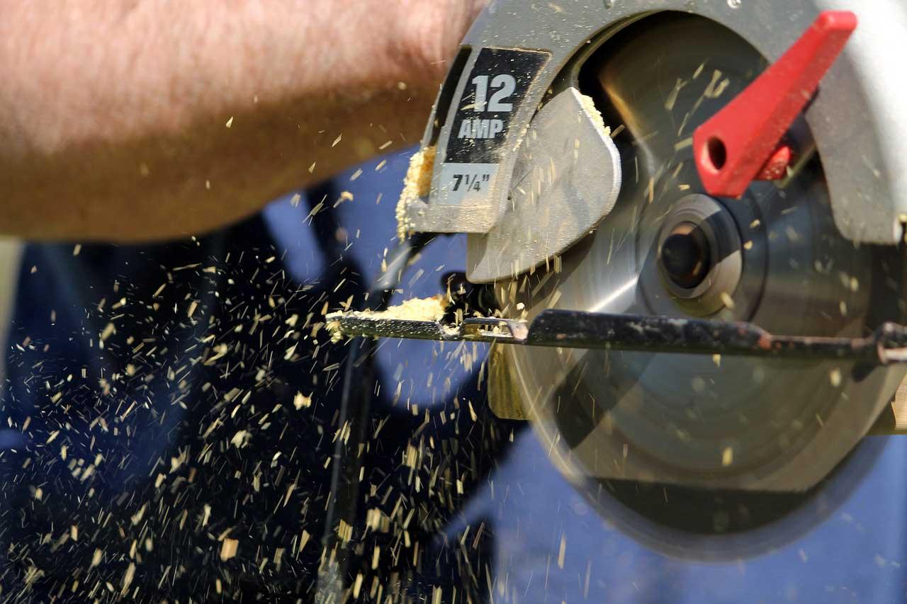Wippkreissäge – Brennholz schnell und sicher schneiden