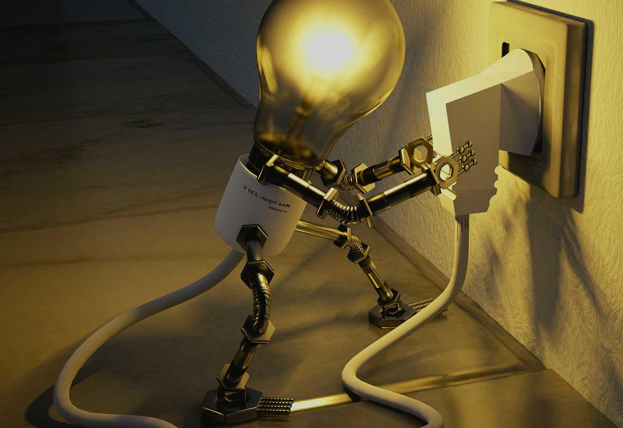 WLAN Lichtschalter - Regulierung von Lampen und Atmosphäre
