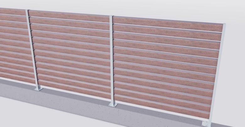 wpc zaunelemente als sichtschutzzaun und vorgartenzaun. Black Bedroom Furniture Sets. Home Design Ideas